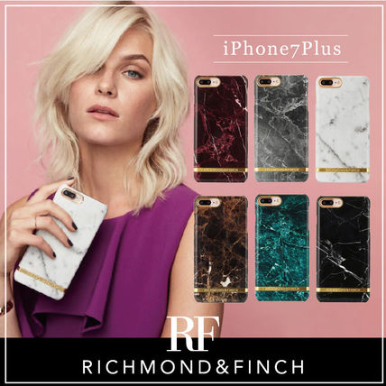 【日本総代理店】iPhone7Plus/RICHMOND&FINCH☆Marbleマーブル