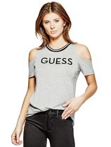 GUESS Women's Whitnee Cold-Shoulder Top