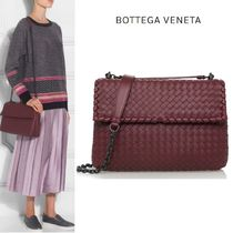【BOTTEGA VENETA】 Medium Olimpiaショルダーバッグ Burgundy