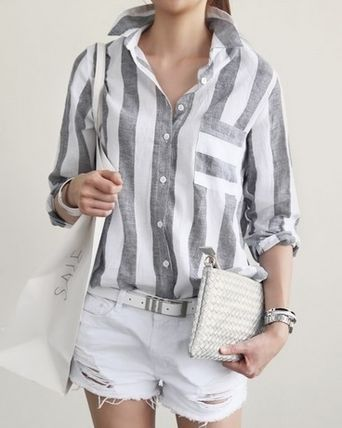 Chic stripes change t-shirt