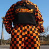 ◇A PIECE OF CAKE◇17ss GGTrailer Checkerboard Hoodie_Orange