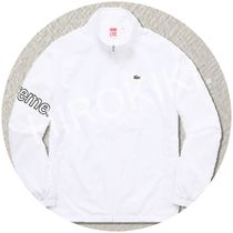 【17SS】S-XLサイズ★Supreme Lacoste Track Jacket ラコステ 白