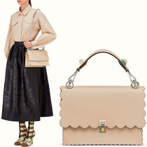 FE1465 'KAN I' BAG WITH WAVY DETAIL