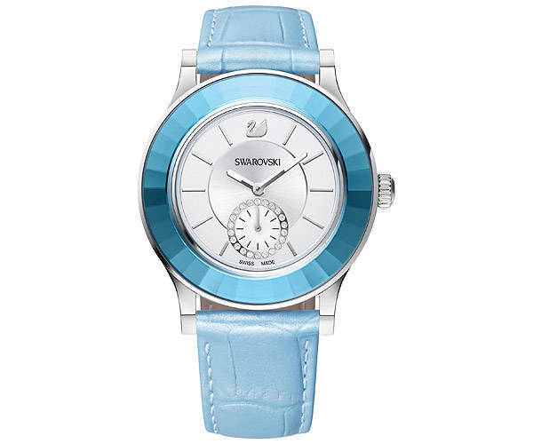 国発【SWAROVSKI】Octea Classica Light Blue Watch 5043192☆