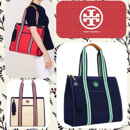 Tory Burch Embroidered T tote