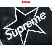 Sサイズ SUPREME/VANSON LEATHER STAR JACKET/BLACK