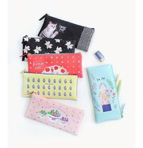 ペンケース 【With Alice】With Alice & Rin SLIM PENCIL POUCH 9type