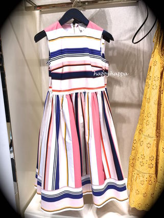 Kate spade refreshing berber stripe fit and flare dress