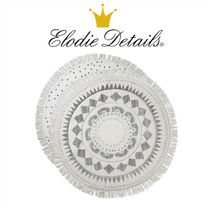 【Elodie Details】洗えるプレイマット フリンジ  リバーシブル