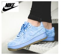 ☆大人気☆Nike Air Force 1 Upstep Premium ブルー♪