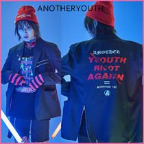 ANOTHERYOUTH(アナザーユース) ジャケット 【ANOTHERYOUTH】正規品★BACK SLITピンZIPPERブレザー/追跡付