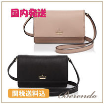 国内発送◆kate spade Arielle Saffiano Leather Crossbody 2色