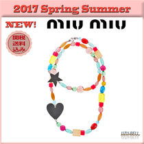 ★送料関税込★17春夏 MIU MIU lovely plexiglass necklace