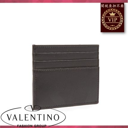VALENTINO カードケース・名刺入れ ★2017新作★Camouflage canvas and leather cardholder(3)