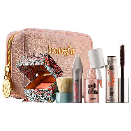 【新作!】benefit コスメ6点セット♪easy weekender makeup kit