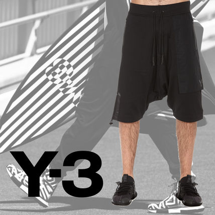 VIP discount 17 SS y-3 Wesley / French Terry shorts