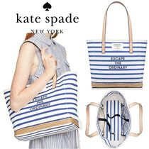 【kate spade】トートバッグ○rogers way hallie☆キャンバス