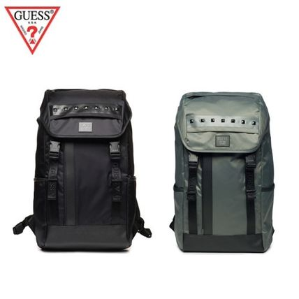 (Guess正規品) ツイルバックパック 2色