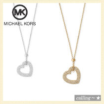 セレブ愛用者多数☆Michael Kors☆Tone Heart Pendant Necklace