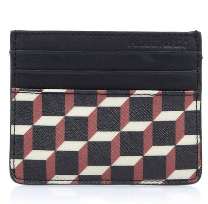 Pierre Hardy カードケース・名刺入れ Pierre Hardy 人気カードケースFW02 CANVAS CUBE CALF MULTI RED(2)