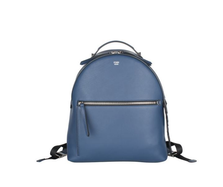 【関税負担】 FENDI SMALL LEATHER BACKPACK