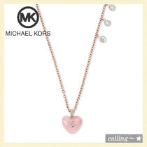 セレブ愛用者多数☆Michael Kors☆Crystal Pendant necklace