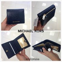 超お勧め!Michael Kors JET SET TRAVEL 折り財布*ADMIRAL