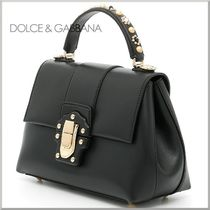 17SS★Dolce & Gabbana デコレーション LUCIA 2WAY バッグ