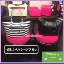 【kate spade】最終SALE★嬉しいリバーシブル♪A4収納可♪ posey
