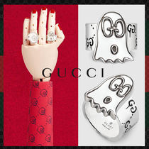 ★GUCCI★Gucci Ghost ゴーストモチーフ シルバーリング