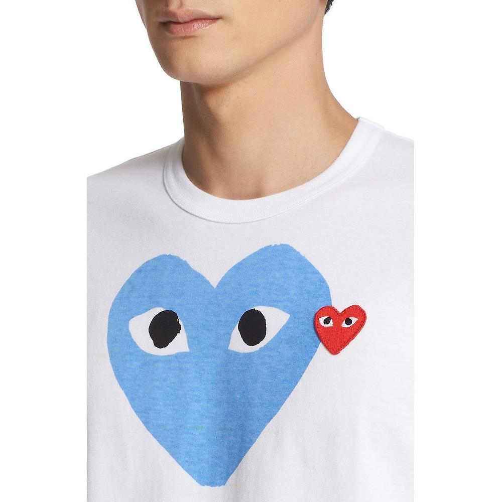 COMME des GARCONS PLAYハートプリントTシャツ☆関税込☆