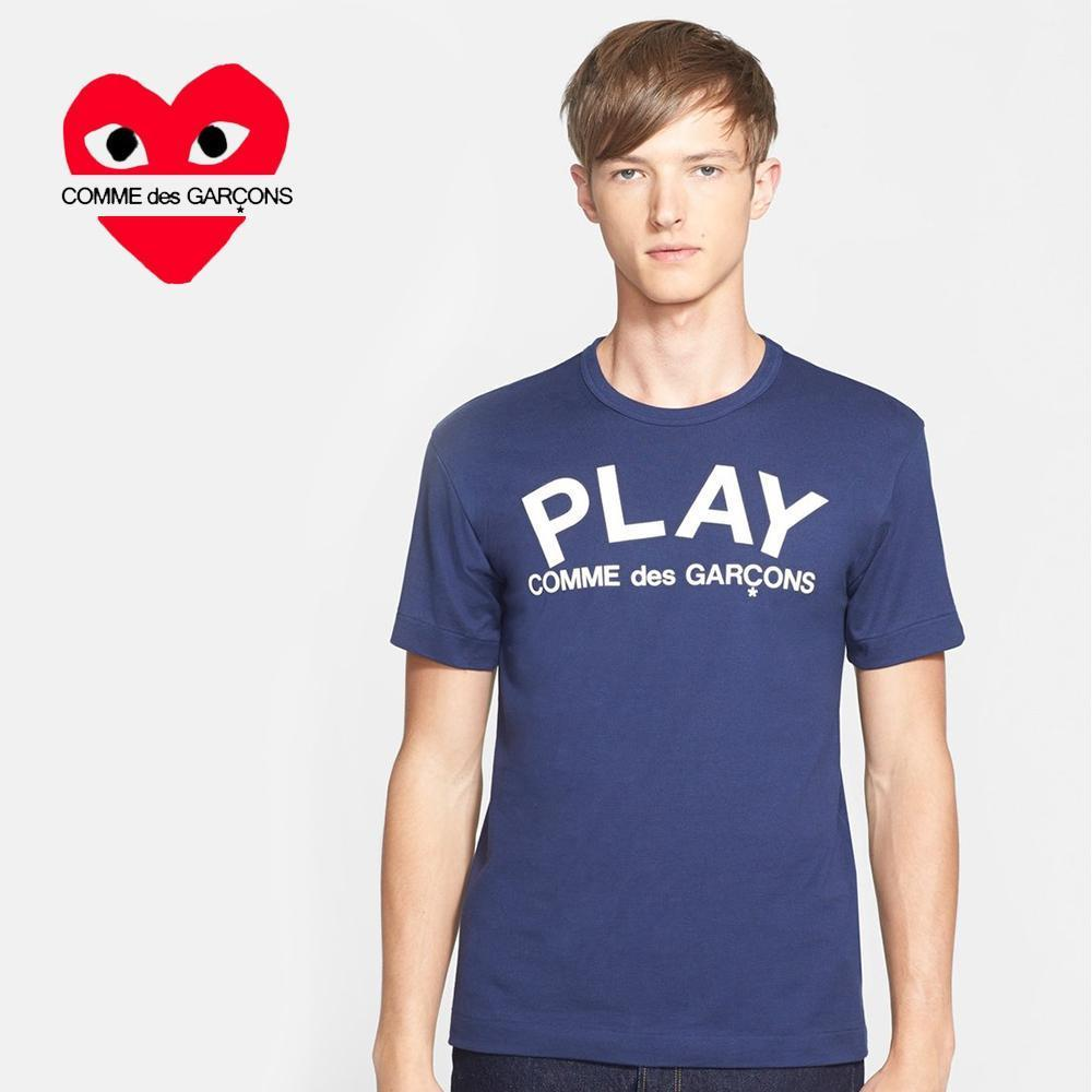 COMME des GARCONS PLAYグラフィックロゴTシャツ☆関税込☆