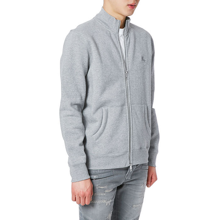 Burberry 17SS SHELTONE Zip-up カーディガン/ジャケット_GREY