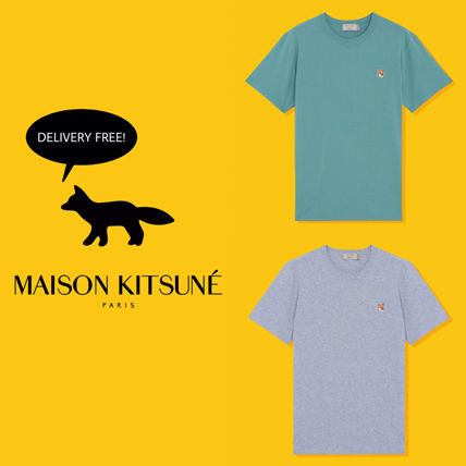 2017 SS MAISON KITSUNE TEE SHIRT FOX HEAD PATCH