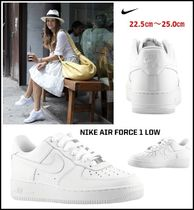 【NIKE】大人もOK! ★NIKE Air Force 1 YOUTH ★ホワイト