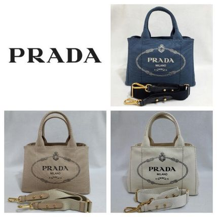 New PRADA-that is a nice 2-WAY CANAPA-g. S with strap 1BG439