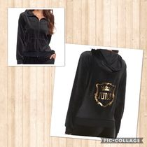 JUICY COUTURE(ジューシークチュール) セットアップ ☆JUICY COUTURE お洒落なベロアセットアップ(ブラック)☆
