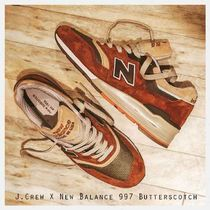 "J.Crew  New Balance 997 ""Butterscotch"" 希少"