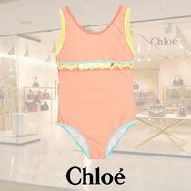 【17SS】Chloe Girls/Pale Orange水着