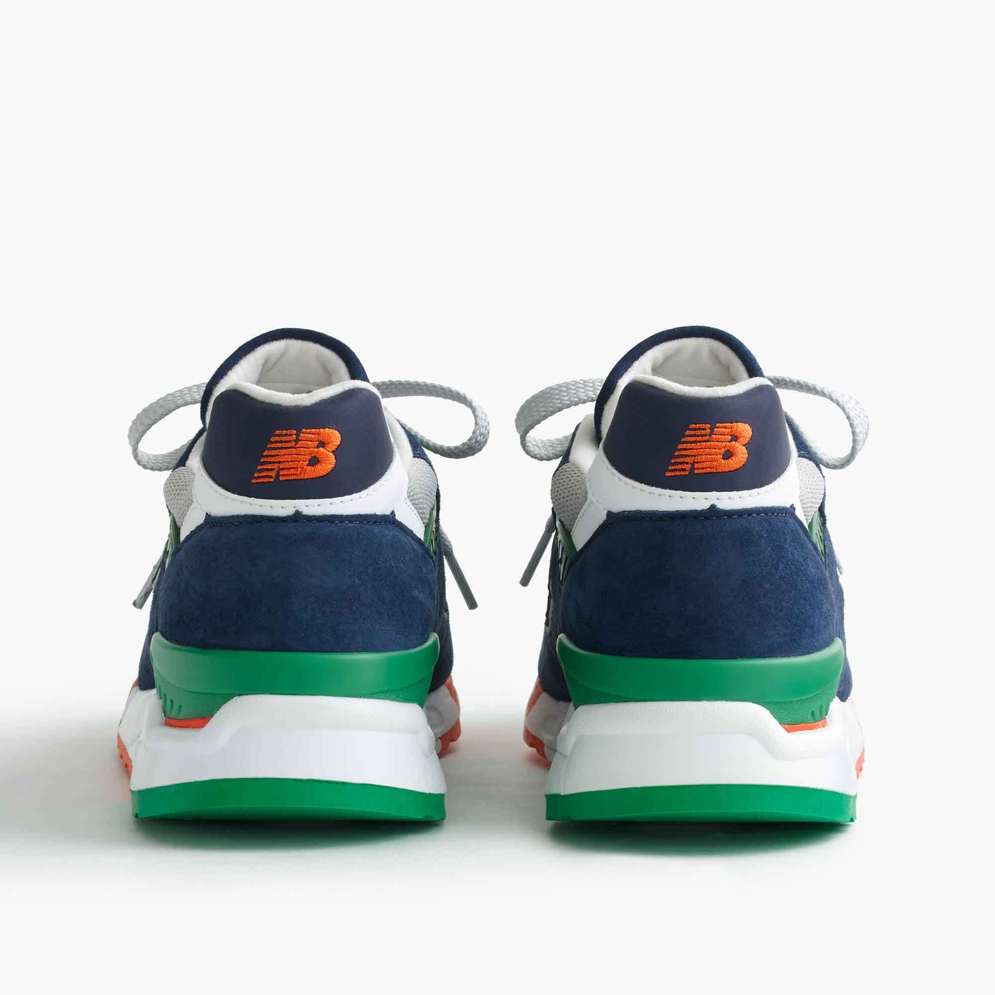 New Balance for J.Crew 998 Toucan sneakers ジェイクルー
