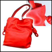 【国内発送】LOEWE* 大人気!! Flamenco Knot Small*Red