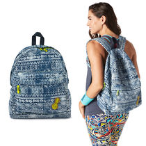 ZUMBA(ズンバ) バッグ 関税込!ZUMBA★Let's Escape Denim Backpack バックパック