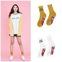 日本未入荷 LUV IS TRUEの(UNISEX)KL POPCON SOCKS 全2色
