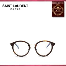 Saint Laurent(サンローラン) メガネ ★2017新作★Round-frame acetate glasses
