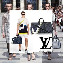 Louis Vuitton(ルイヴィトン) ボストンバッグ 2017SS新作 LouisVuitton AMERICA'SCUP Keepall 55 Bandouliere