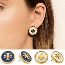 Tory Burch Semi Precious Stud Earrings