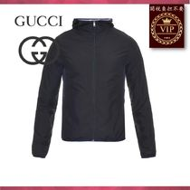 GUCCI(グッチ) コートその他 ★2017新作★Technical lightweight mesh hooded jacket