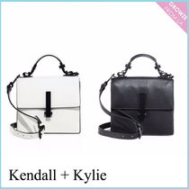 【Kendall + Kylie】新作!レザー サッチェルバッグ☆2色