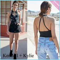 【Kendall + Kylie】新作!チョーカー ボディスーツ☆2色