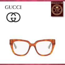 GUCCI(グッチ) メガネ ★2017新作★Square-frame acetate glasses